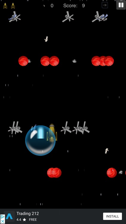 Space Dodge - Endless Game screenshot-4