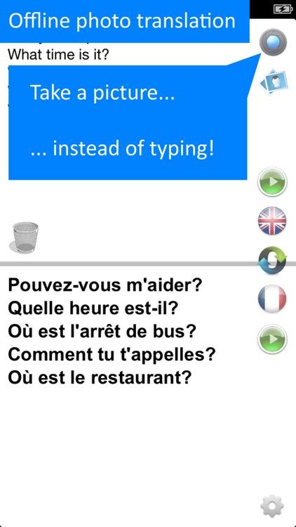 Offline French Translator App screenshot-4