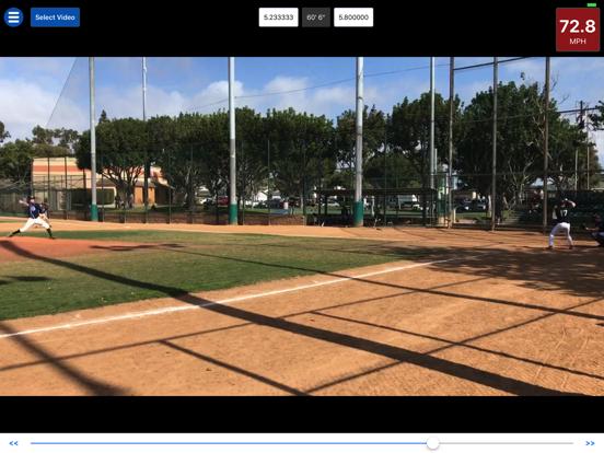 Baseball Radar Gun + screenshot 3