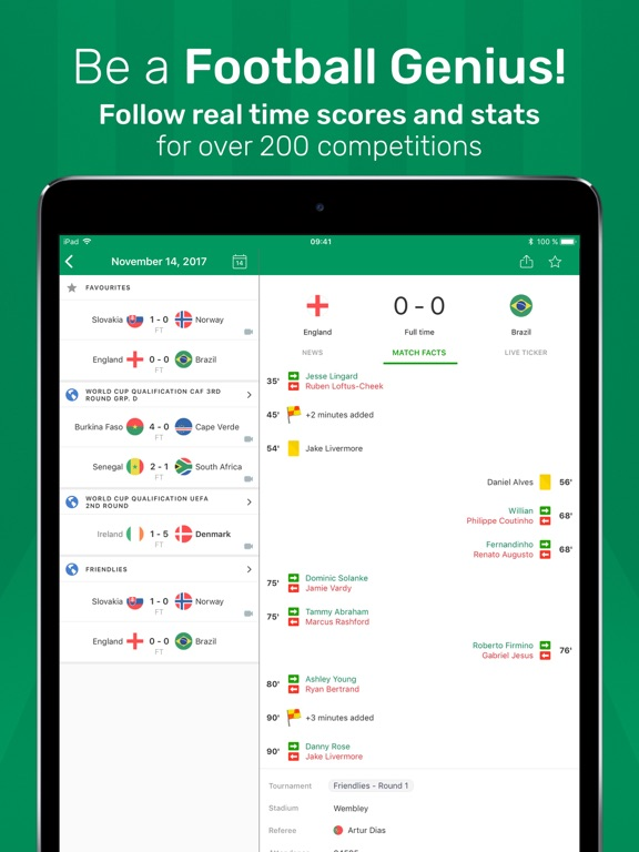 FotMob Live Football Scores Скриншоты8