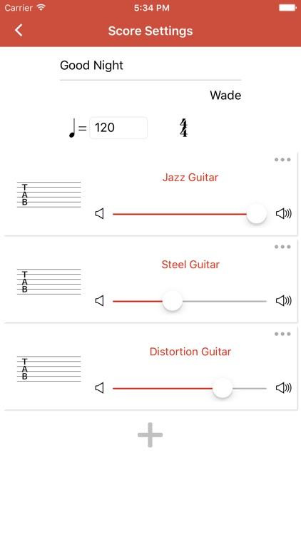 Guitar Notation Pro screenshot-3