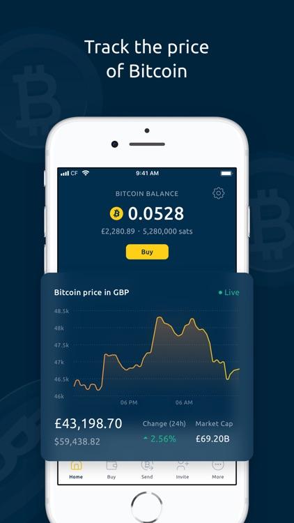Coinfloor - Buy & Sell Bitcoin screenshot-4