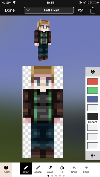 Screenshot #5 for Minecraft: Skin Studio