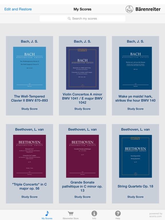Bärenreiter Study Score Reader