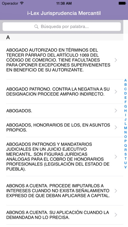 i-Lex Jurisprudencia Mercantil screenshot-0