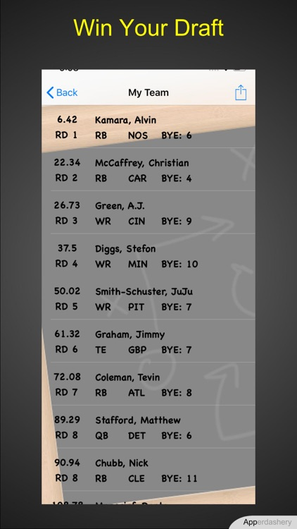 Draft Champ screenshot-4