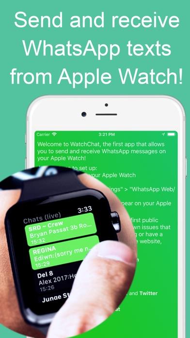 WatchChat for WhatsApp Screenshot