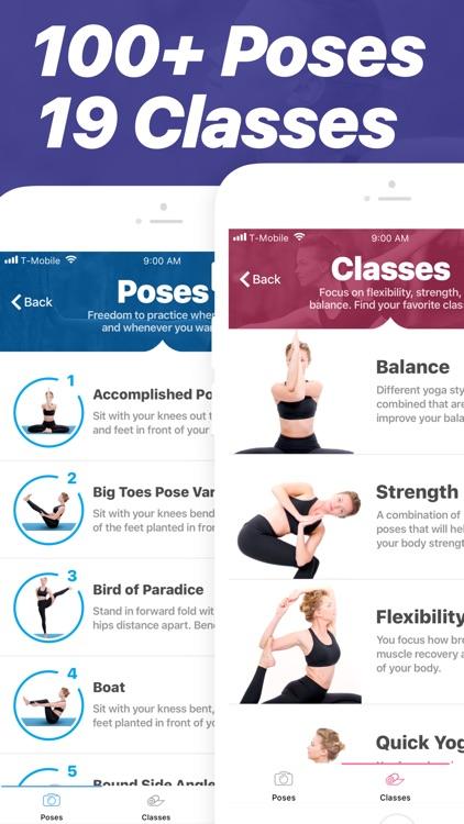 Yoga - Poses & Classes
