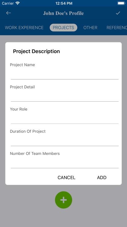 Resume Builder - CV makers screenshot-8