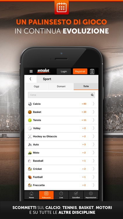 Intralot Scommesse Sportive screenshot-1