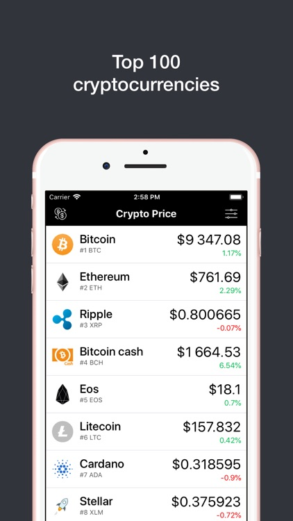 Crypto Price Pro screenshot-0