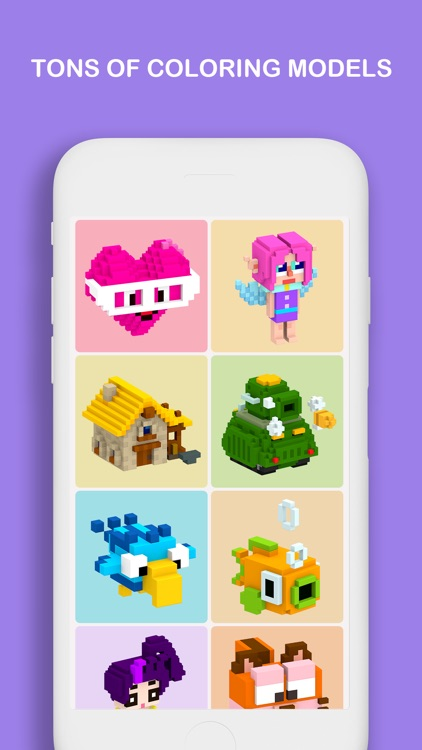 Voxel - Color by Number screenshot-3