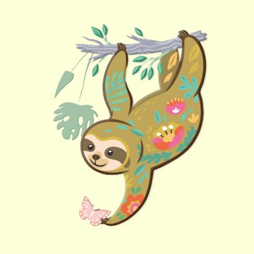 Sloth Wildlife Stickers