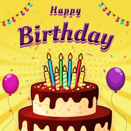 Bday Video Maker, Wishes, Card