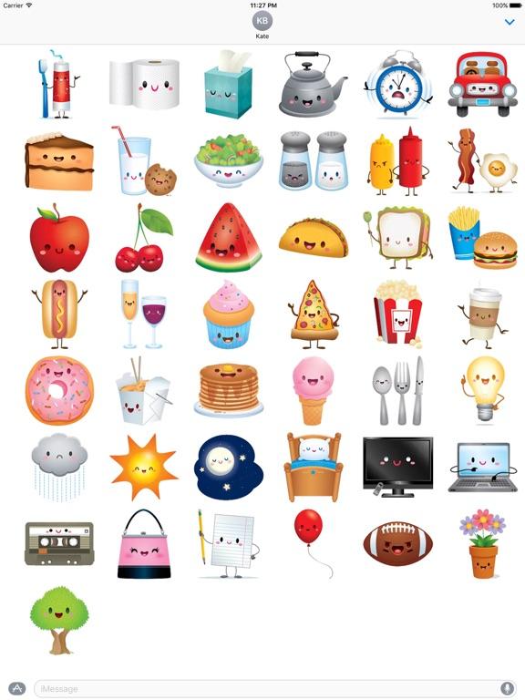 Cute Icons IconMoji Sticker screenshot 4