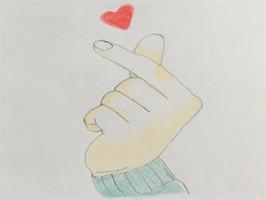 Heart Shaker : finger heart