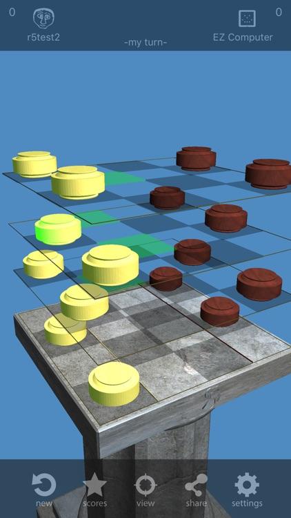 Checkers³