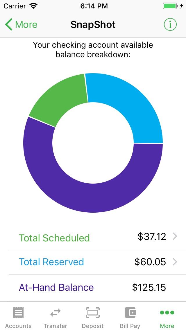 BankMobile App Screenshot