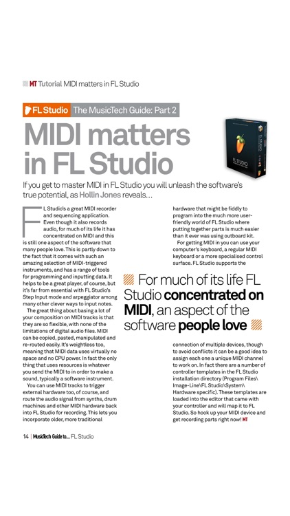 Music Tech Guide ... FL Studio