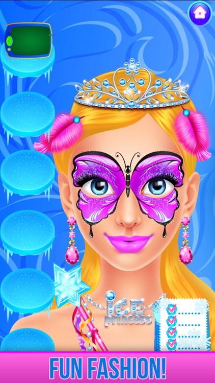 Ice Princess Face Paint Salon screenshot-7