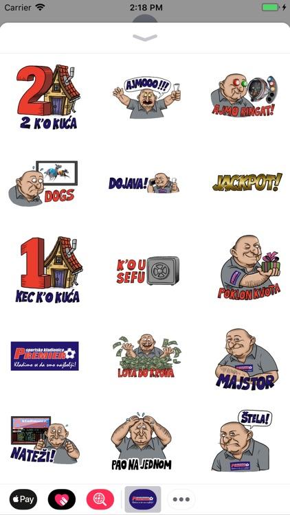 Premier Stickeri