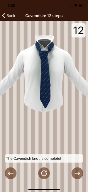 ‎Tie a Necktie 3D Animated Screenshot
