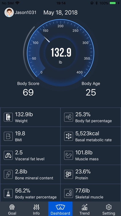 eBelter Body Fat Scale screenshot-0