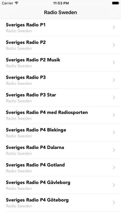 Radio Sweden Streaming Station screenshot-4