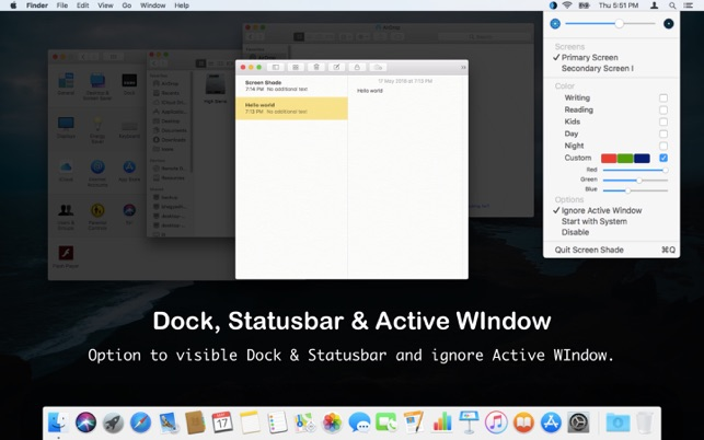 mac screenshot active window