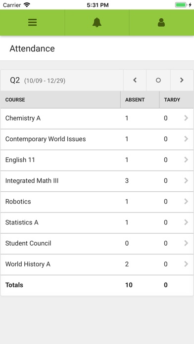 Screenshot for Campus Student in United States App Store