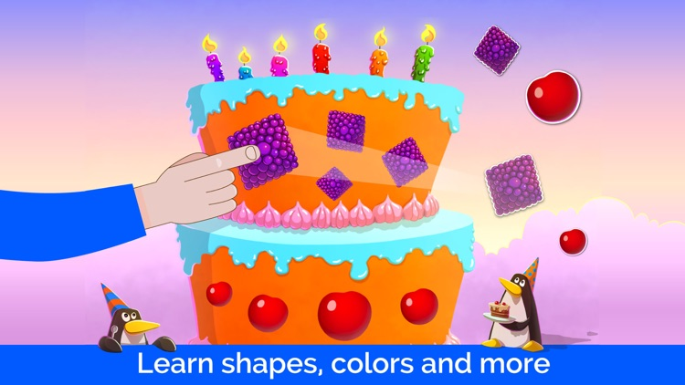 Puzzle game for toddlers full screenshot-3