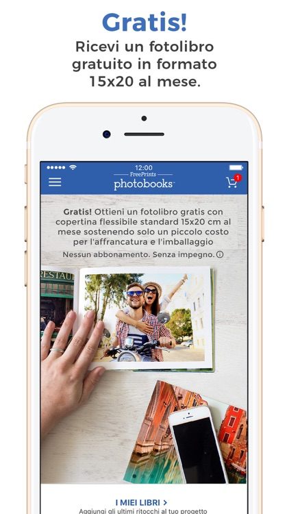 FreePrints Fotolibri Gratuiti screenshot-0