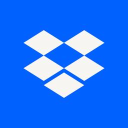 Ícone do app Dropbox - Salve, compartilhe