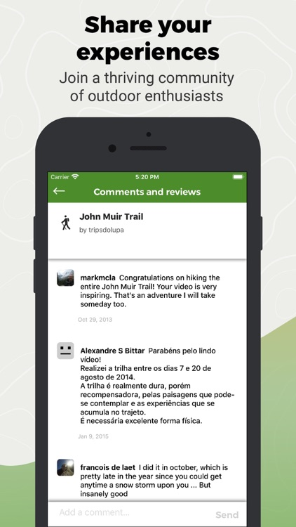 Wikiloc Outdoor Navigation GPS screenshot-5