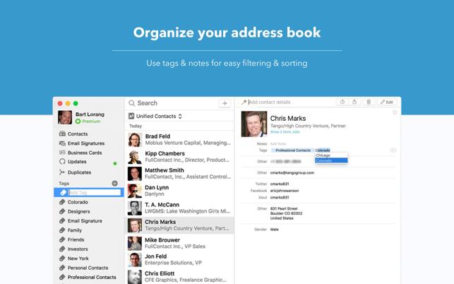 FullContact | Contact Manager Screenshot