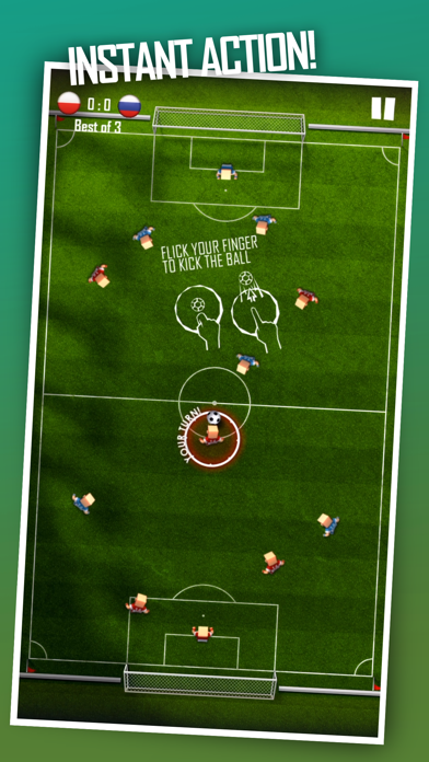 Flick Champions VS: Soccer screenshot one