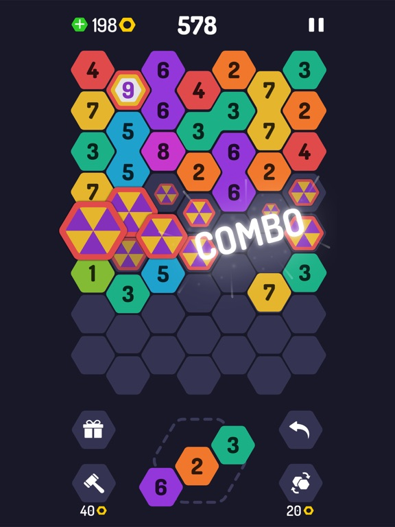 UP 9 - Hexa Puzzle! screenshot 8