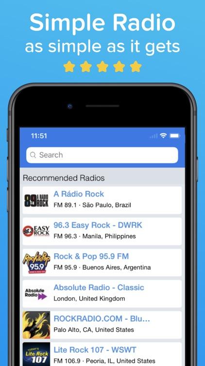 Simple Radio – Live AM FM App screenshot-3