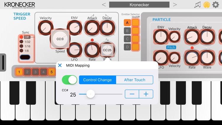 Kronecker Synthesizer screenshot-6