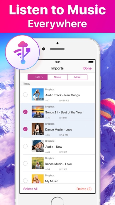 Music Cloud Offline app image