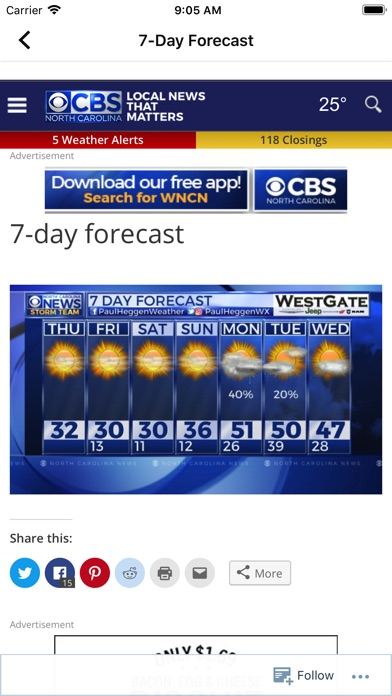 CBS 17 WX for Windows
