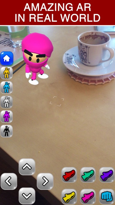 Ninja Kid AR: Augmented Action Screenshot 2