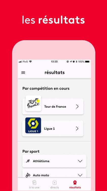 France tv sport: actu sportive screenshot-4