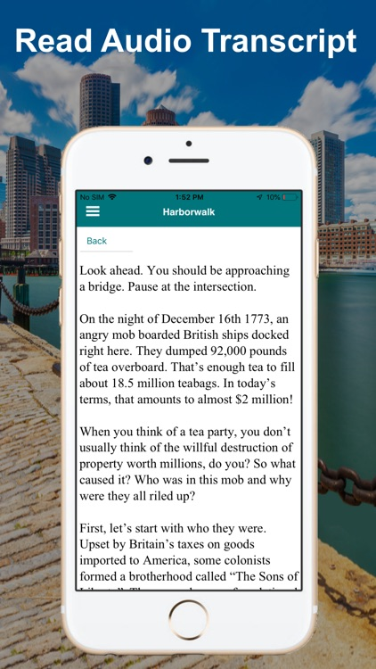 Boston Harborwalk Tour Guide screenshot-6