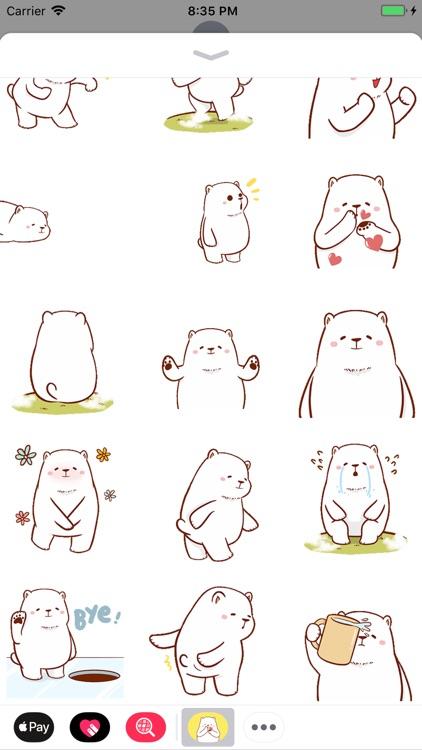 Funny Polar Bear Animated