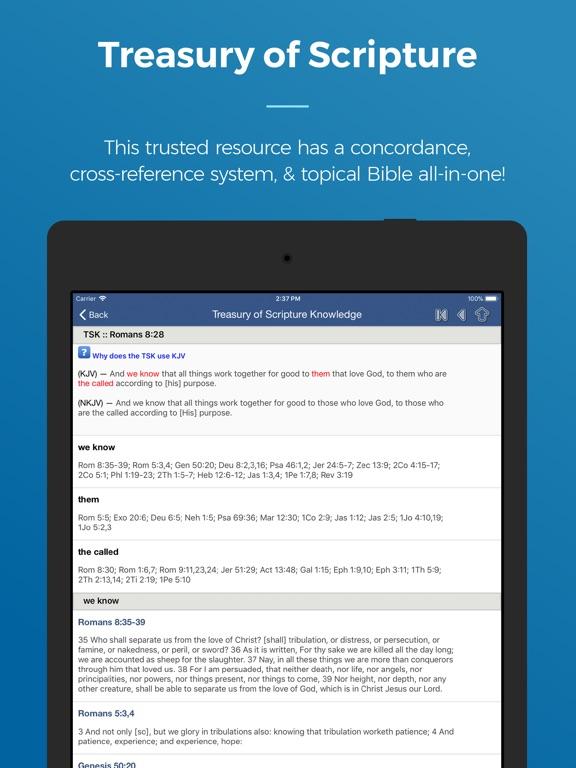 Blue Letter Bible iPad