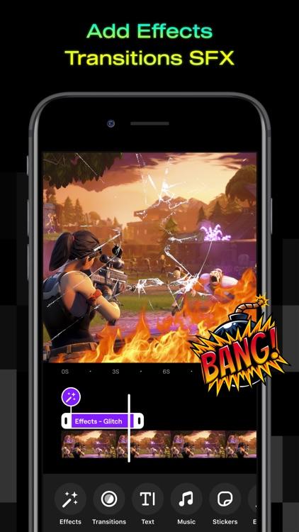 Powder - Edit video game clips