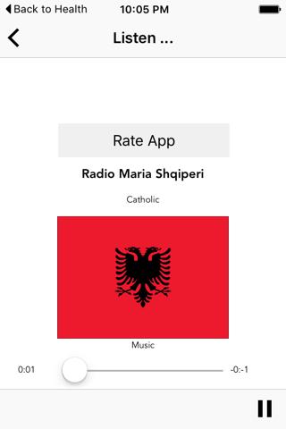 Albanian Radio Shqip - náhled
