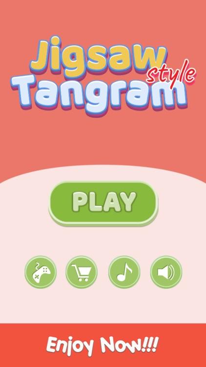 Jigsaw Style Tangram Geometry screenshot-4