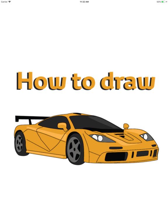 Draw Sport and Retro Cars screenshot 5